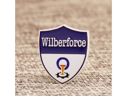 Wilberforce Enamel Lapel Pins