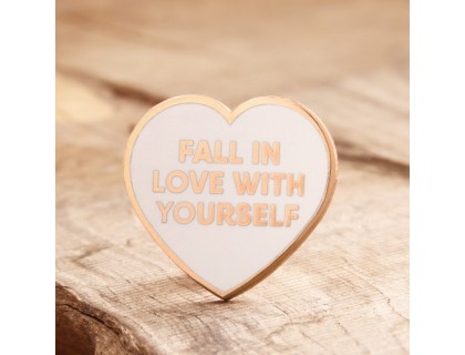 Love yourself Enamel Lapel Pins