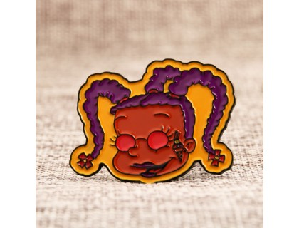 Ugly Girl Lapel Pins