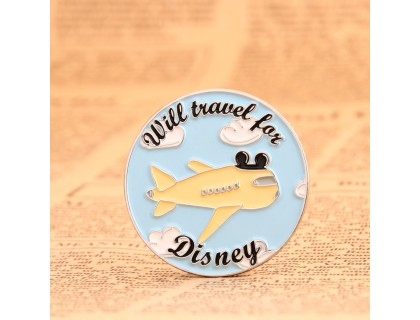 Travel For Disney Soft Enamel Pins