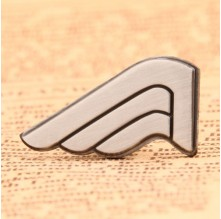 Single Wing Lapel Pins