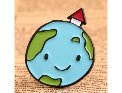 Lovely Earth Custom Pins