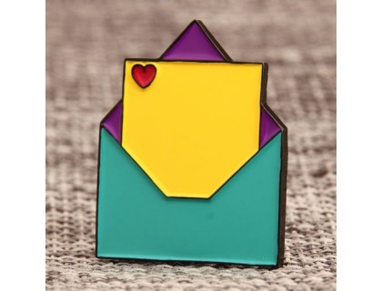 Lovely Envelope Custom Lapel Pins