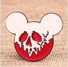 Mickey Ghost Custom Enamel Pins
