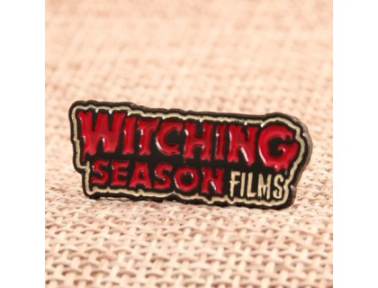 Witching Season Films Enamel Pins