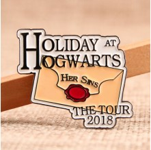 Holiday At Hogwarts Enamel Pins