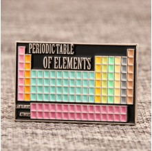 Periodic Table Of Elements Custom Pins