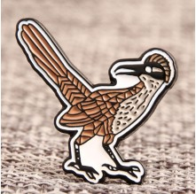 The Standing Bird Enamel Pins