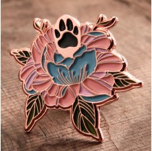 Custom Exceptional Flowers Pins