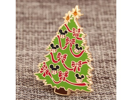 Custom Christmas Trees Enamel Pins