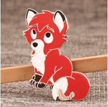 Custom Fox Lapel Pins