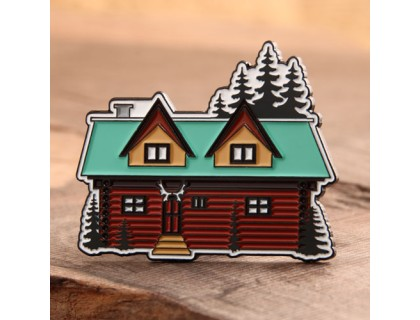 Beautiful House Enamel Pins