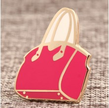 Handbag Lapel Pins No Minimum