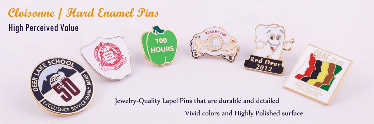 Hard Enamel Pins|Cloisonne Lapel Pins|Cheap Pins